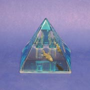 Paperweight Pyramid Shark