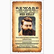 Ned Kelly Tea Towel